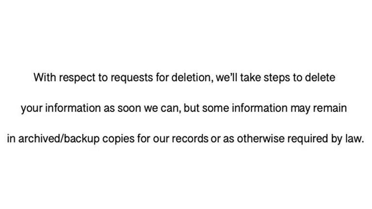 Vous voulez que Houseparty efface vos données? La société US se réserve le droit d'en conserver une partie, comme le signale sa politique de confidentialité.