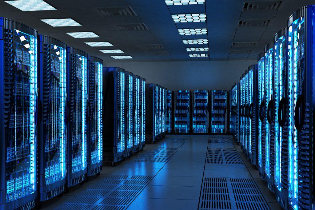 Présentatioon d'une salle serveur cloud