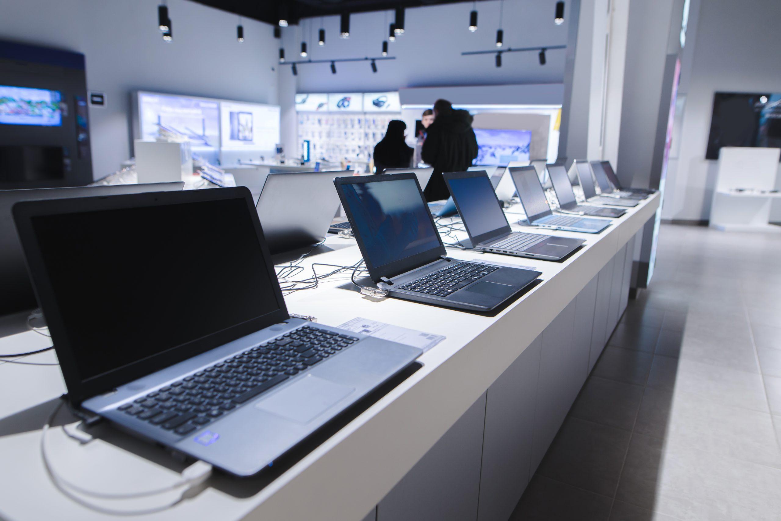 Magasin de matériel informatique