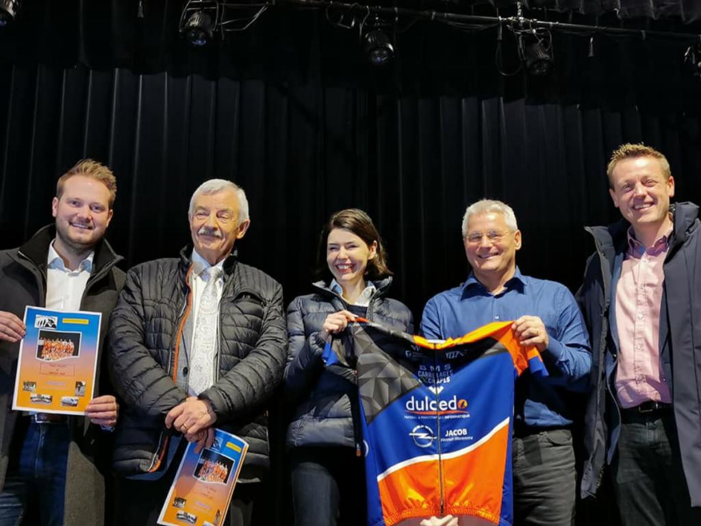 Mallots de la Team Cycliste Hesbay