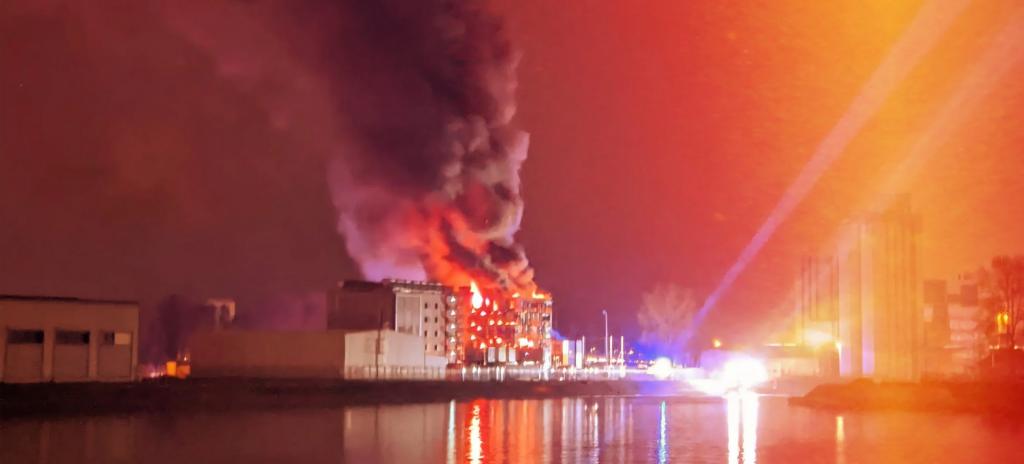 Incendie du Data Center de OVH à Strasbourg